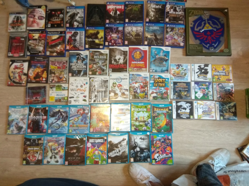 [ECH] jeux wii gamecube Wii u neuf PS4 ds 3ds xbox Img_2158