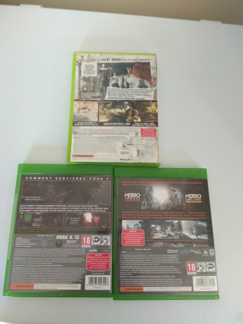 [ECH] Jeux XBOX 360 2EUROS PIECE [DON] boite xbox 360  - Page 4 Img_2382
