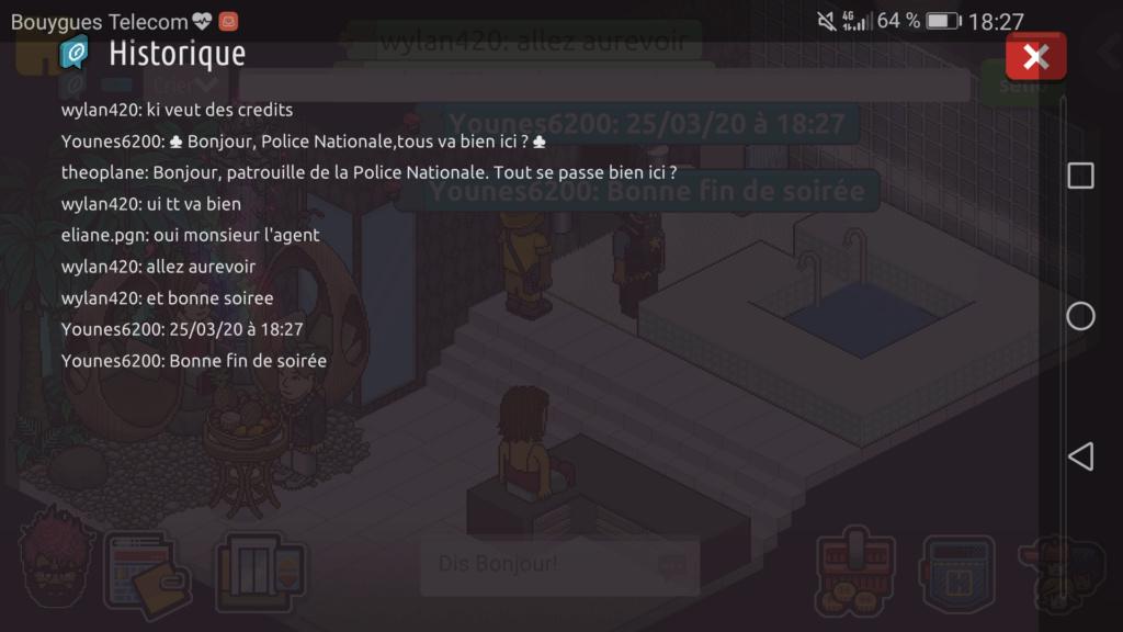 [P.N] Rapport de Patrouille de Younes6200  Scree201