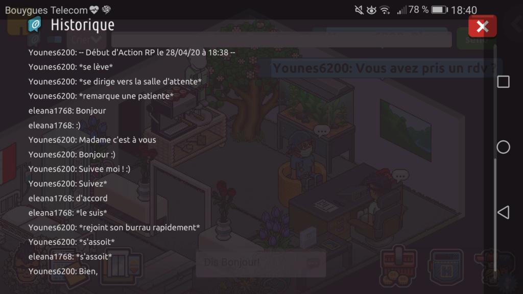 [C.H.U] Rapport d'Action RP de Younes6200 Scree369