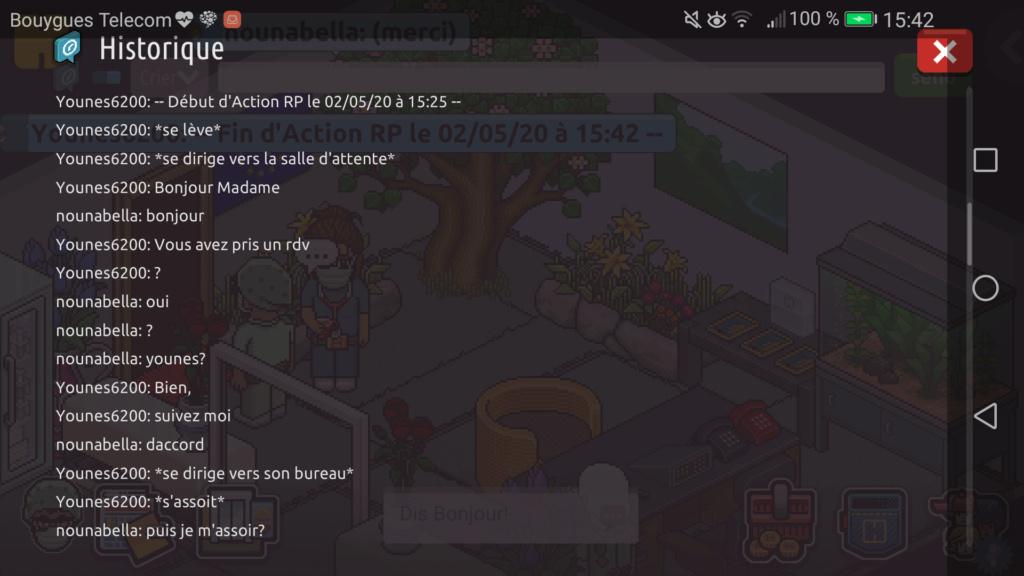 [C.H.U] Rapport d'Action RP de Younes6200 Scree393