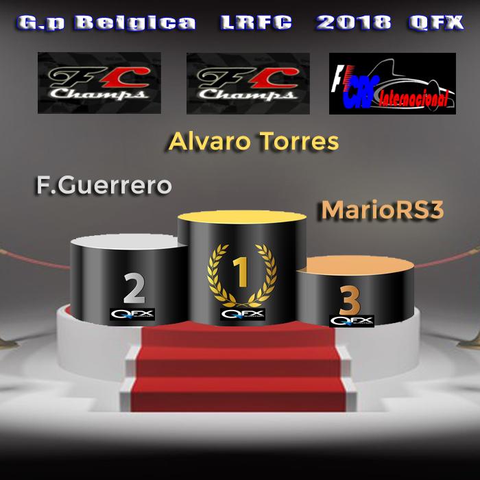 GP de BELGICA LrFC 2018 QFX - Resultados & Comentarios Podio_21