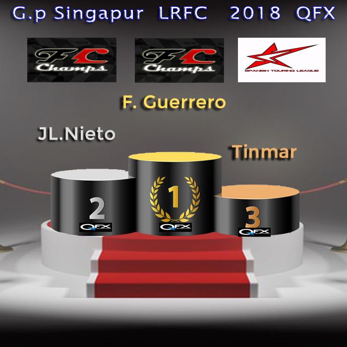 GP de SINGAPUR LrFC 2018 QFX - Resultados & Comentarios Podio_22
