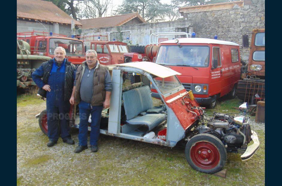 Firminy : plus d'une centaine de véhicules entretenus au musée des sapeurs-pompiers Photo-10