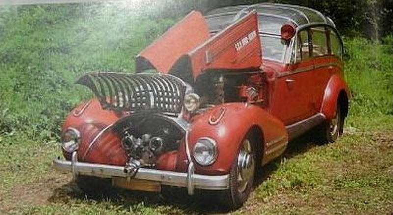 Horch 853 AS 12 Lepil de 1938 – Une voiture de pompier unique Xhorch15