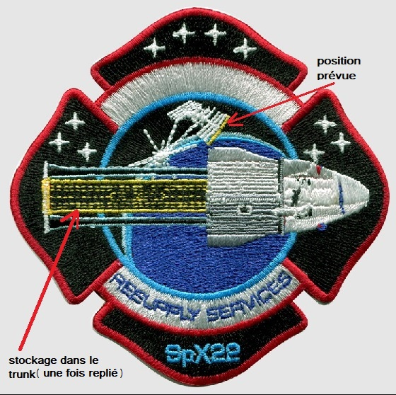 Falcon 9 (Dragon CRS-22) - KSC - 03.06.2021 Badge_11