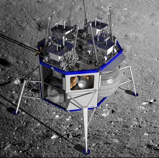 [Artemis] Contrats pour acheminer des CU sur la Lune (CLPS) Blue_m12
