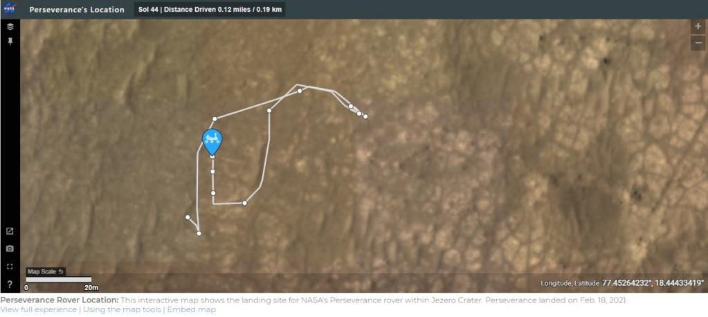 Mars 2020 (Perseverance) : exploration du cratère Jezero - Page 8 Carte_11