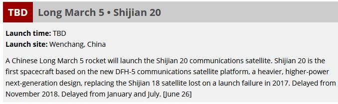 CZ-5 Y3 (Shijian-20) - 27.12.2019 - Page 2 Date_r10