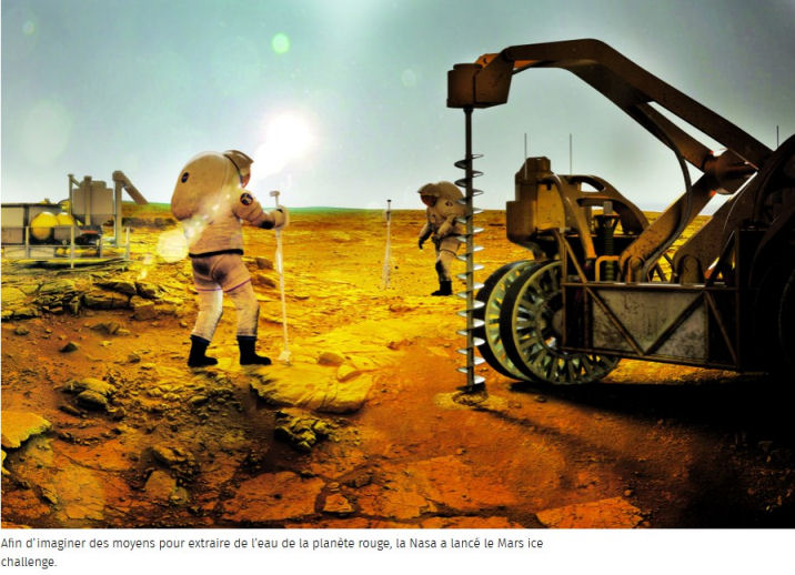 Mars Ice Challenge 2018 (NASA) Recher10