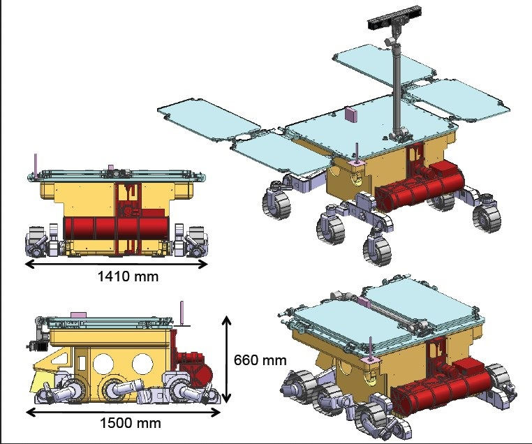 ExoMars - 2022 - Préparation de la mission (Rosalind Franklin) - Page 13 Rosali11