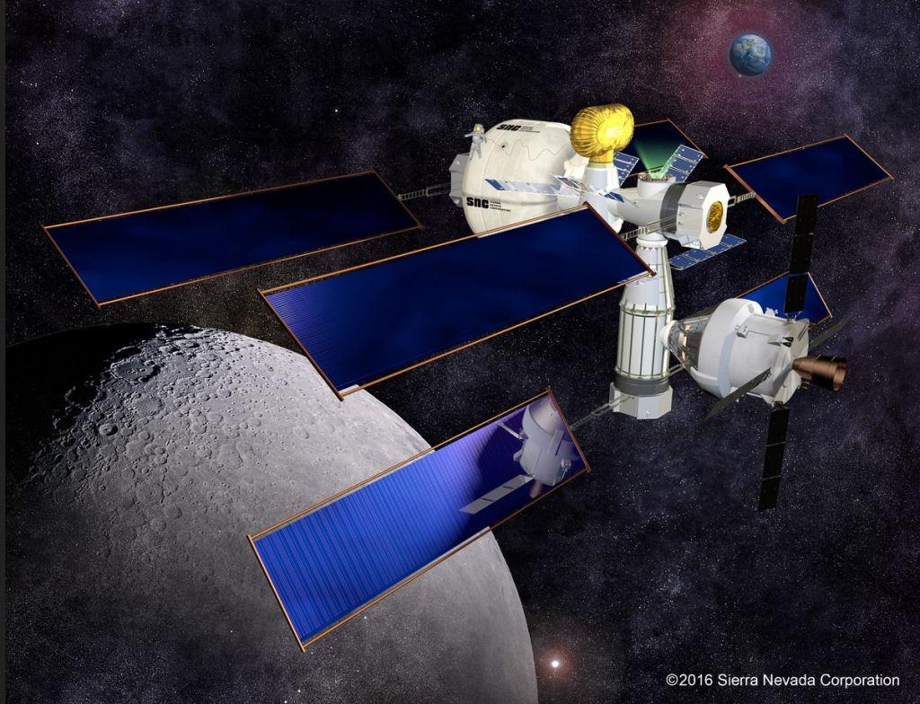 SNC développe des structures gonflables pour l'espace Sierra10