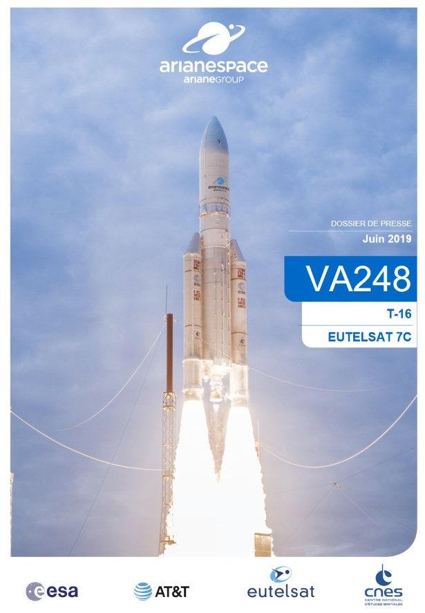 Ariane 5 VA248 (DirecTV 16 & Eutelsat 7C) - 20.06.2019  Vol_va11