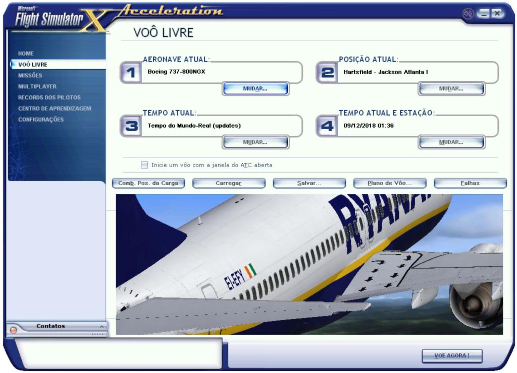Mudando o prefixo das aeronaves da PMDG 211