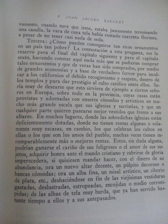 Noticias de la Península de California - Juan Jacobo Baegert 1772 Baeger16