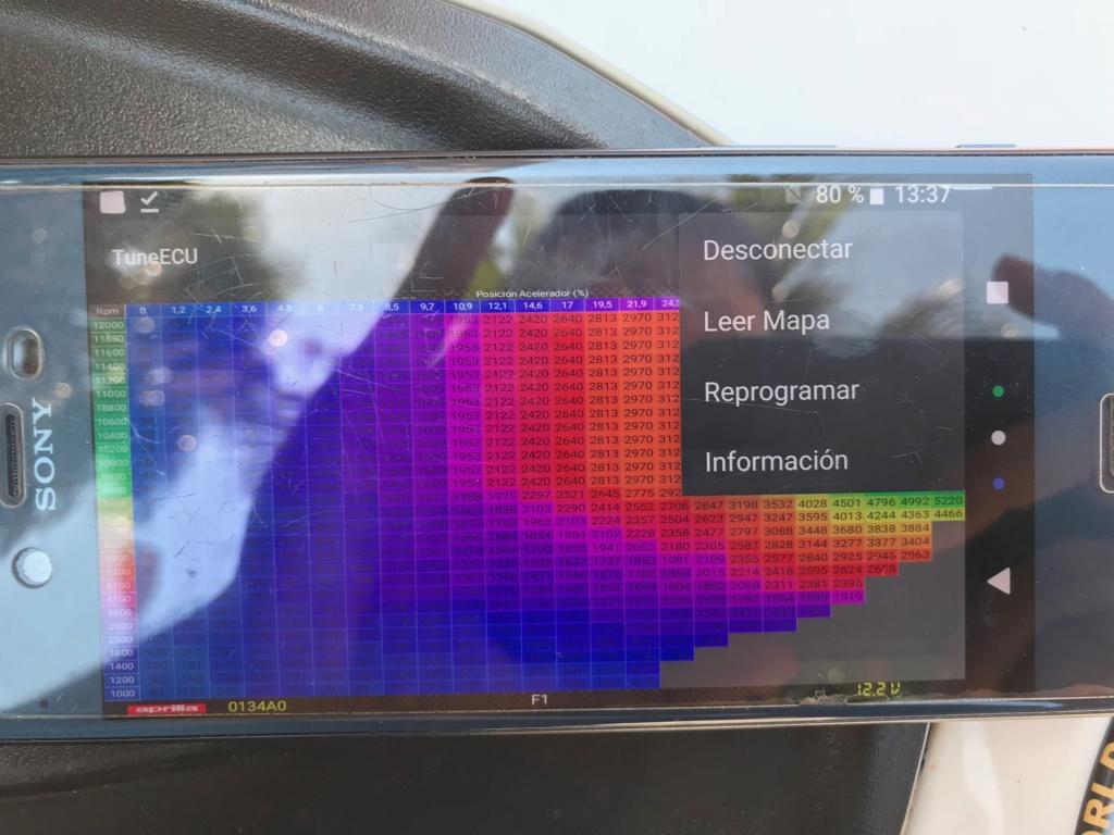 Tutorial: Deslimitar/limitar/Cambiar mapa de inyección Aprilia Shiver/Dorsoduro 750 Img_0914