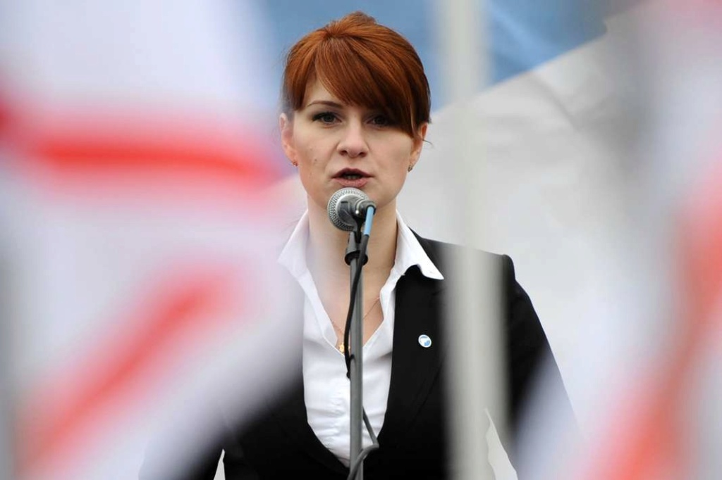 Maria Butina, l'espionne de Sibérie qui tombe à pic A11