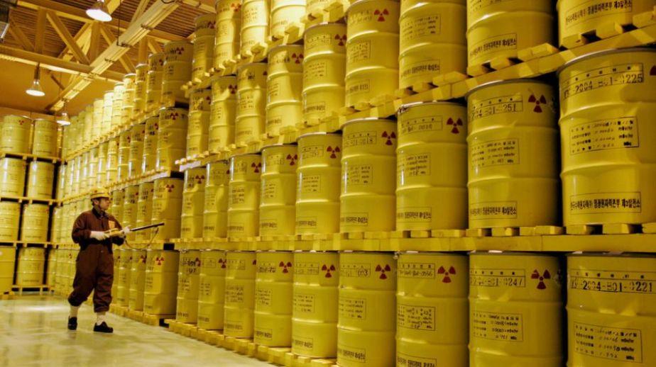 Déchets radioactifs de plutonium et d'uranium australiens A17