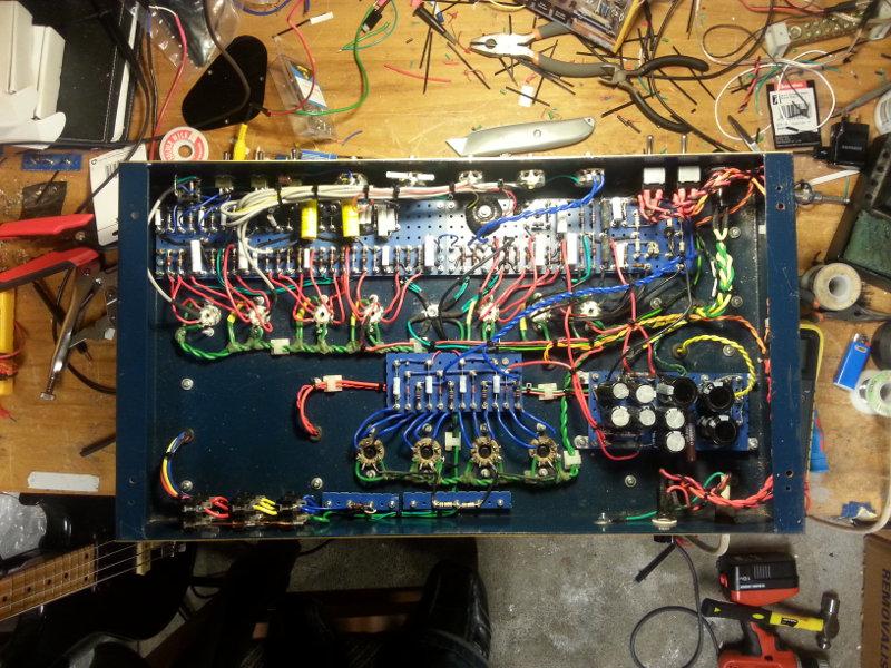 Palmer Modulo 200 Valvulado, Restauro. (Com vídeo) 01-amp10