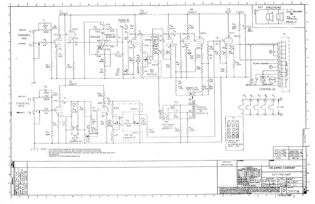 Palmer Modulo 200 Valvulado, Restauro. (Com vídeo) Ampeg_10