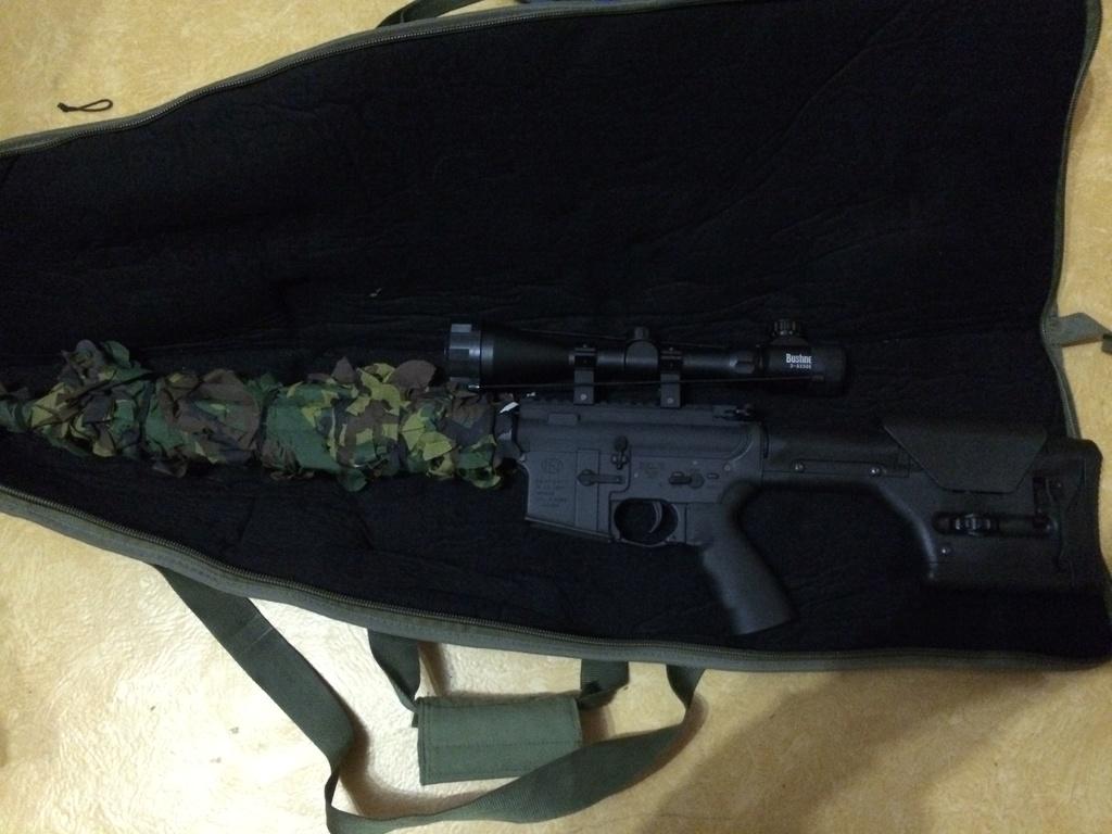 Magpul-G&P M16A4 PRS Custom Sniper AEG Img_1310