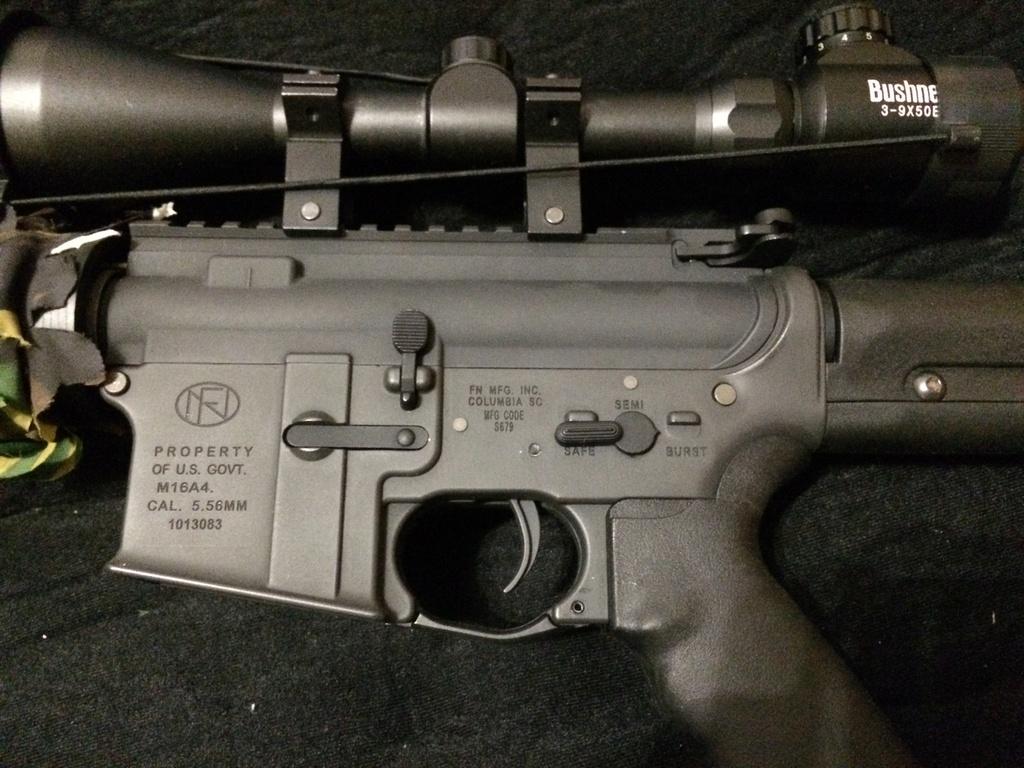 Magpul-G&P M16A4 PRS Custom Sniper AEG Img_1311