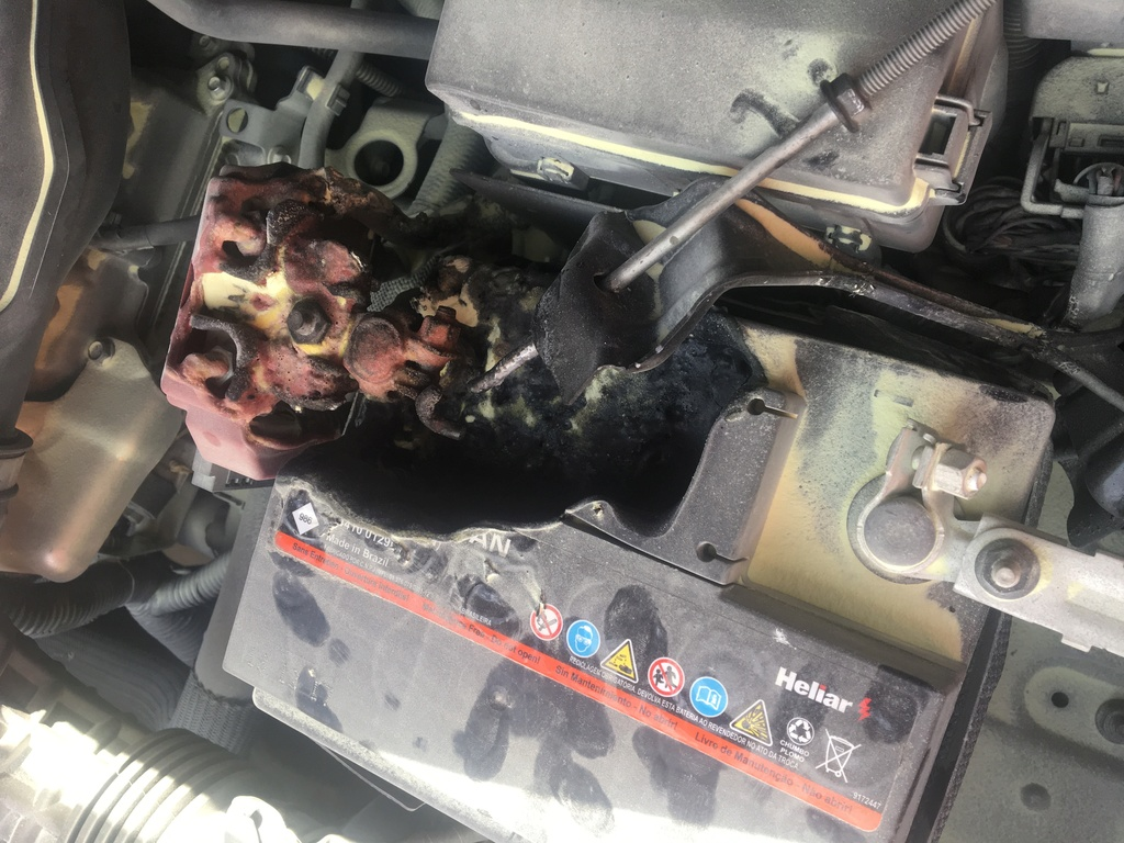Bateria pegou fogo E410b110