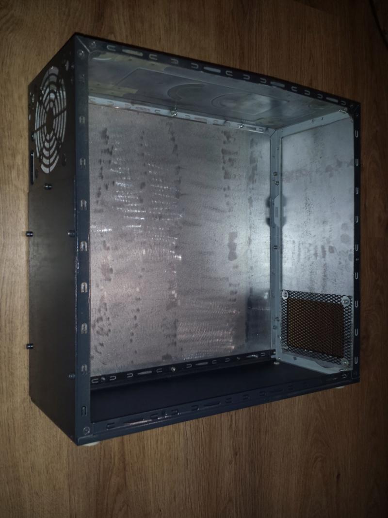 Re-câblage de ma CNC dans un coffret métal créer avec un ancien PC 00210