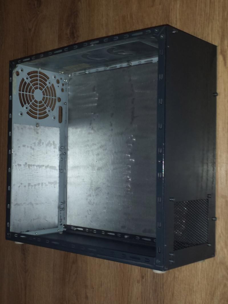 Re-câblage de ma CNC dans un coffret métal créer avec un ancien PC 00310