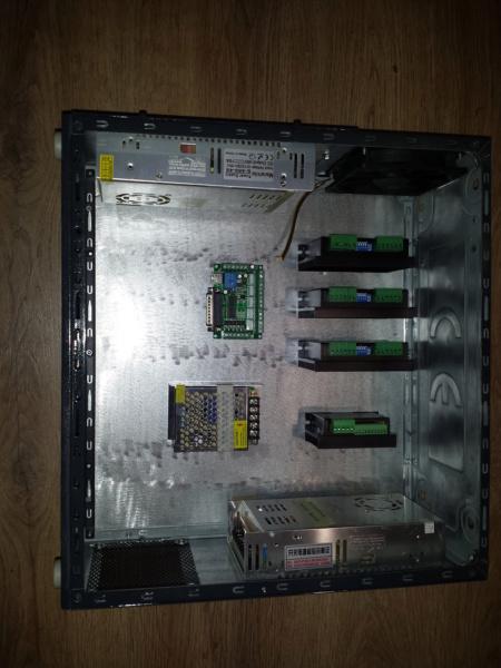 Re-câblage de ma CNC dans un coffret métal créer avec un ancien PC 004_co10