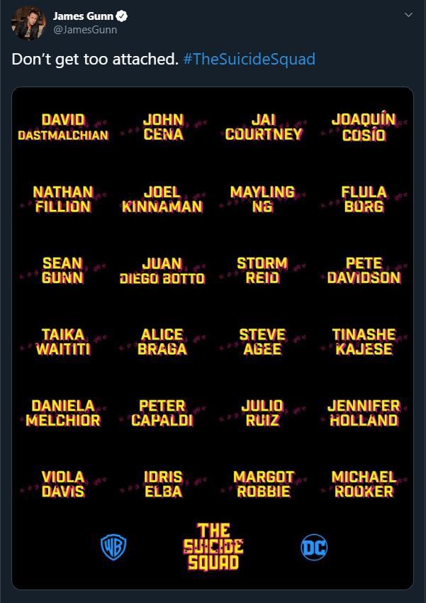 The Suicide Squad Cast 70378110