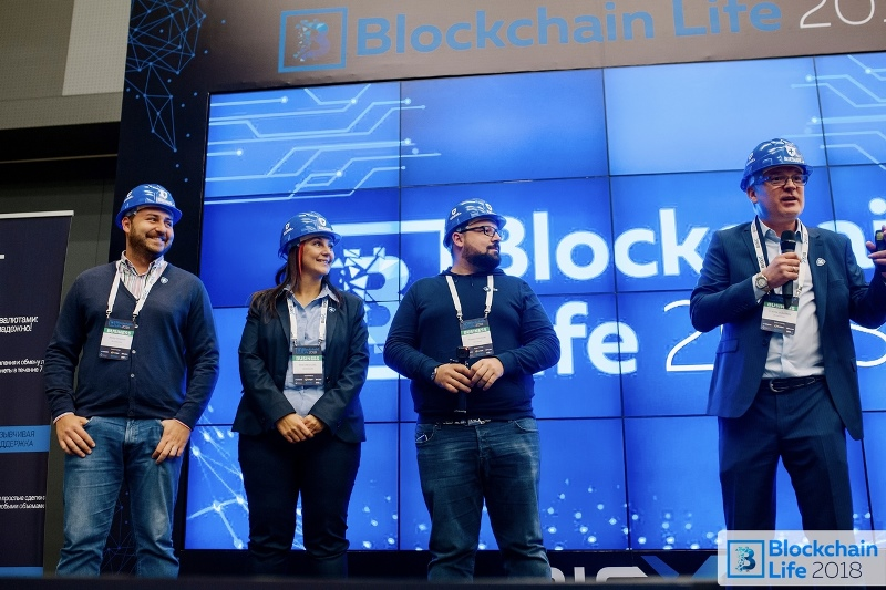 In Russia, St. Petersburg took place one of the largest international blockchain,  cryptocurrency and mining forum - Blockchain Life 2018 Jjwjhp10