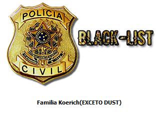[26/1/2019] - Criação de regras para blacklist - Local: [Jogo] 112