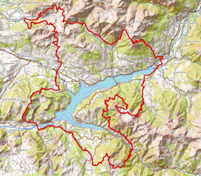 parcours serre-ponçon (sans parapente) Carte-13