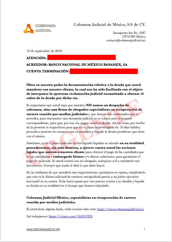 Carta de supuesto juicio mercantil 4b71cb10
