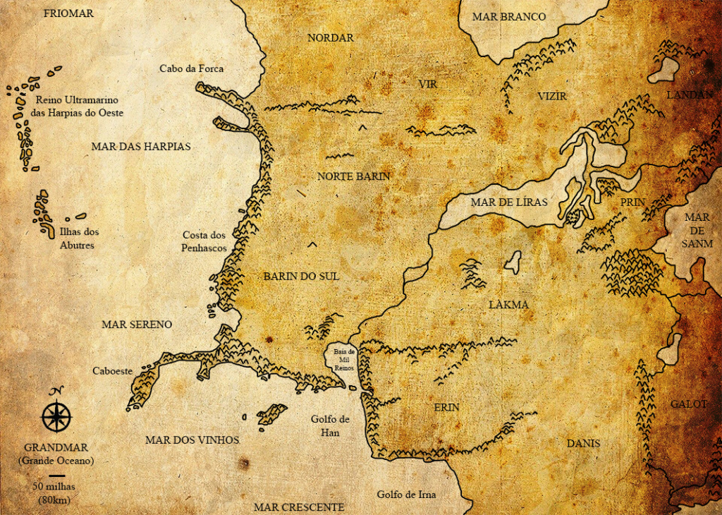 A Marcha ao Oeste Mapa210