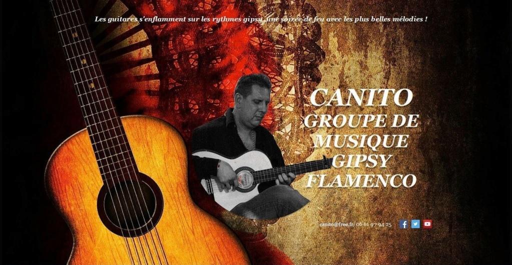 SOIRÉE GIPSY FLAMENCO     CAÑITO   MARDI 4 JUIN 2019  Plaque12