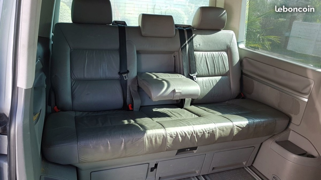A vendre Interieur Cuir gris Multivan VW T5 de 2005 Vw210