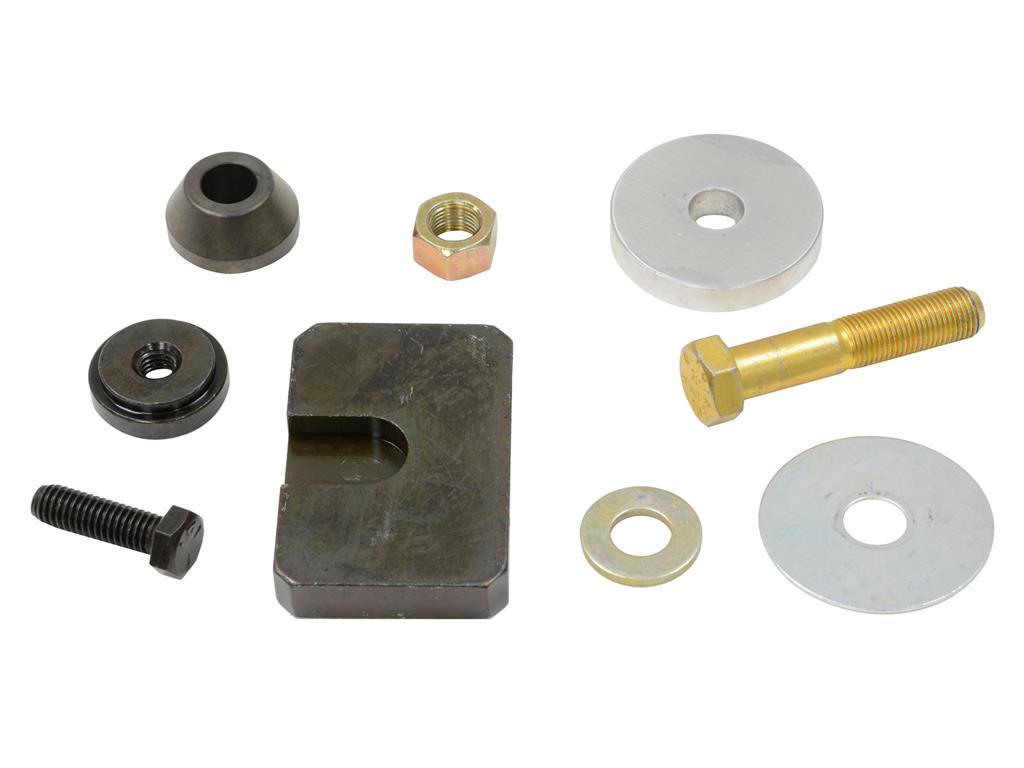 Installation des coupelles de bras et lame de suspension arrières / C3 58221910
