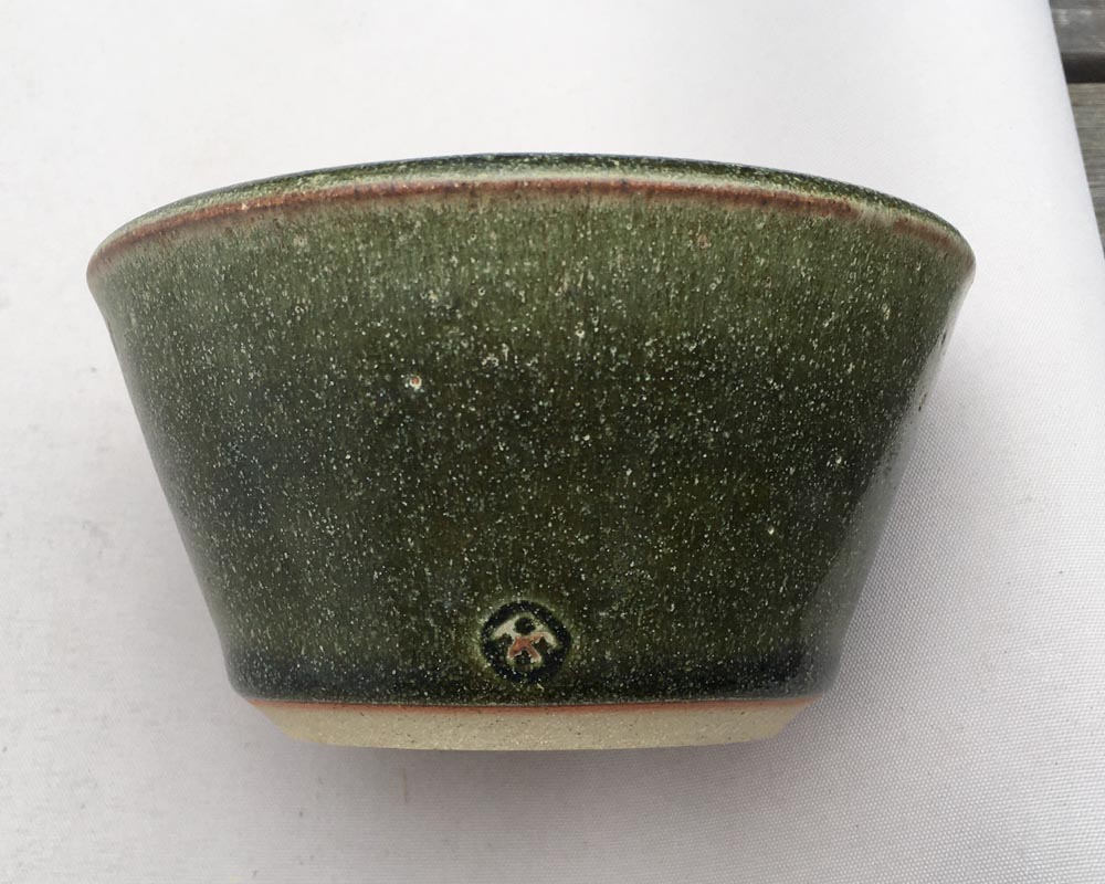 Green dish - Great Braxted Pottery  835010