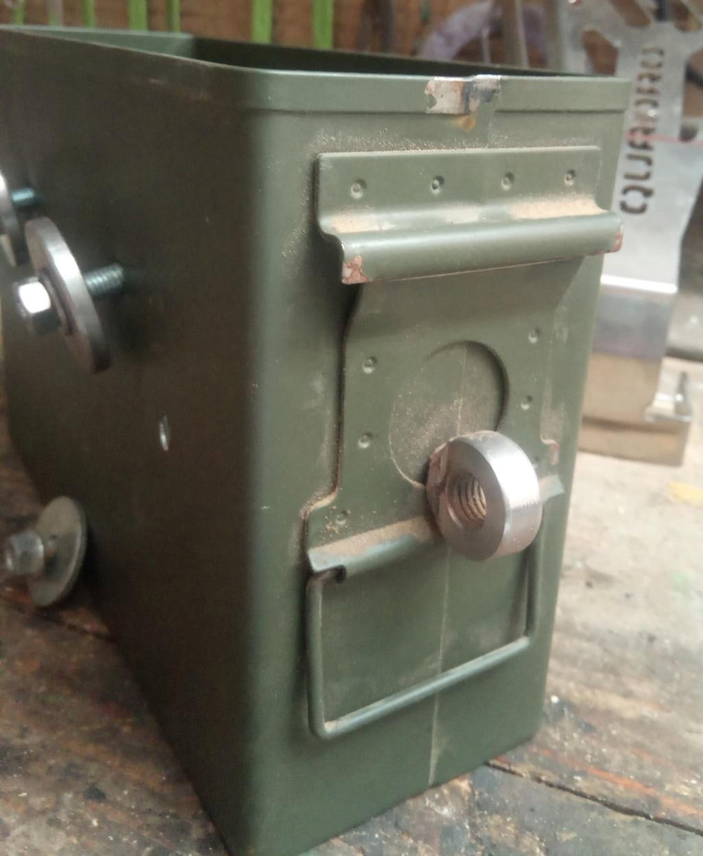 Ajout d'une caisse à outil sur Quadro 4 steinbock S811