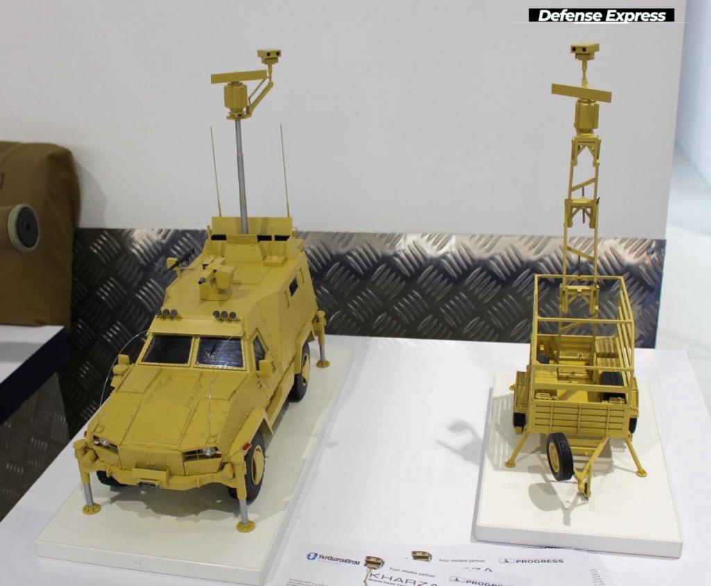 الرادارات الجديدة للاستطلاع والمراقبة اوكرانية الصنع 112