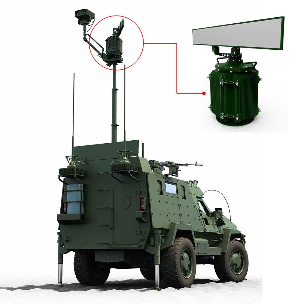 الرادارات الجديدة للاستطلاع والمراقبة اوكرانية الصنع 311