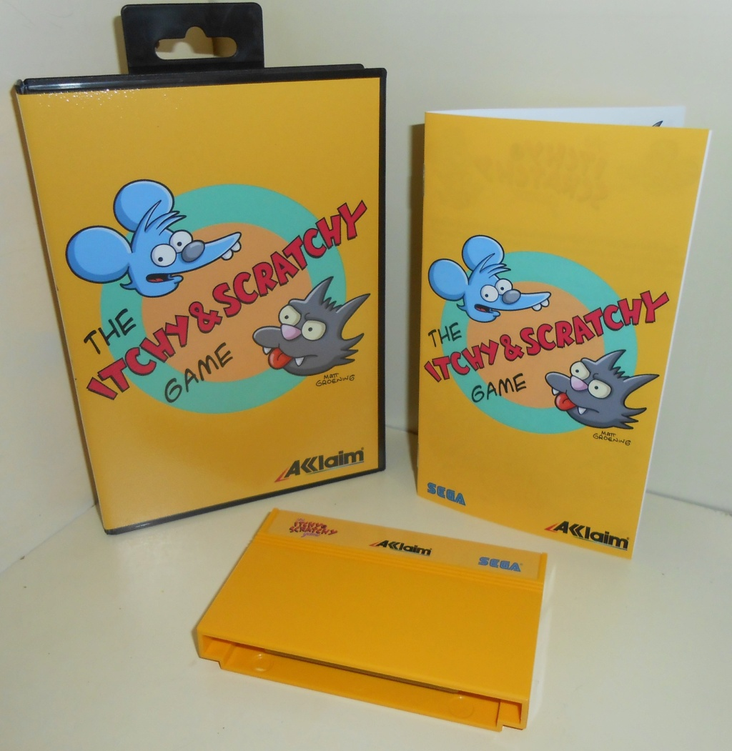 Itchy & Scratchy Master System Complet 100% neuf Dscn1610