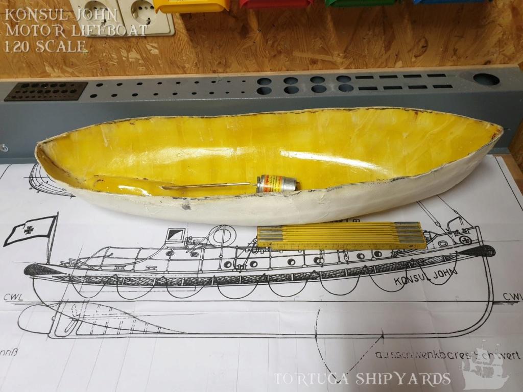 classic german lifeboat - Konsul John Konsul13