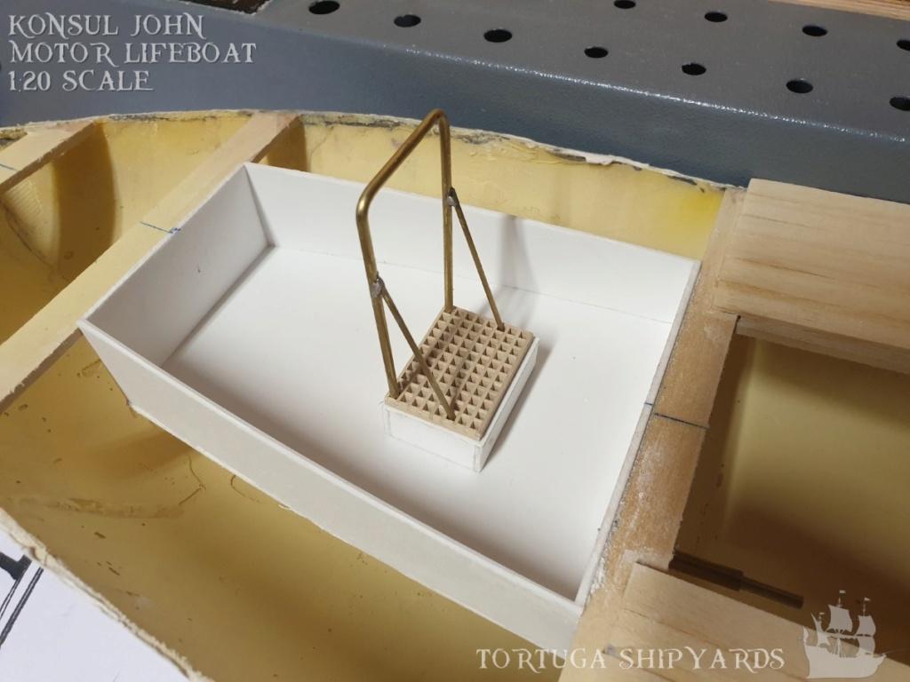 classic german lifeboat - Konsul John Konsul16