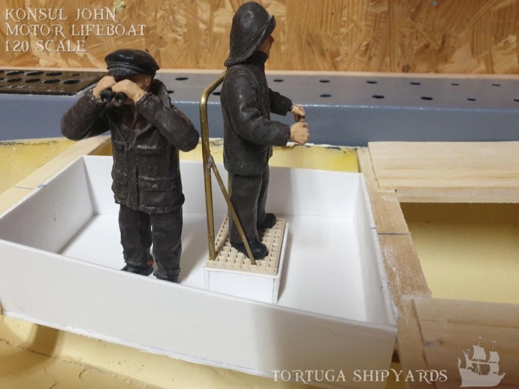 classic german lifeboat - Konsul John Konsul17