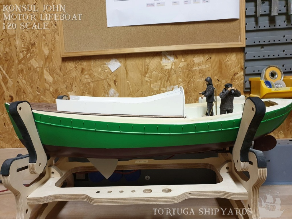 classic german lifeboat - Konsul John Konsul20