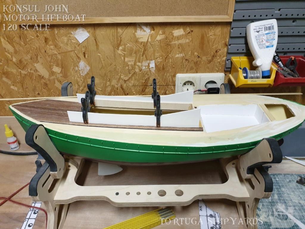 classic german lifeboat - Konsul John Konsul21