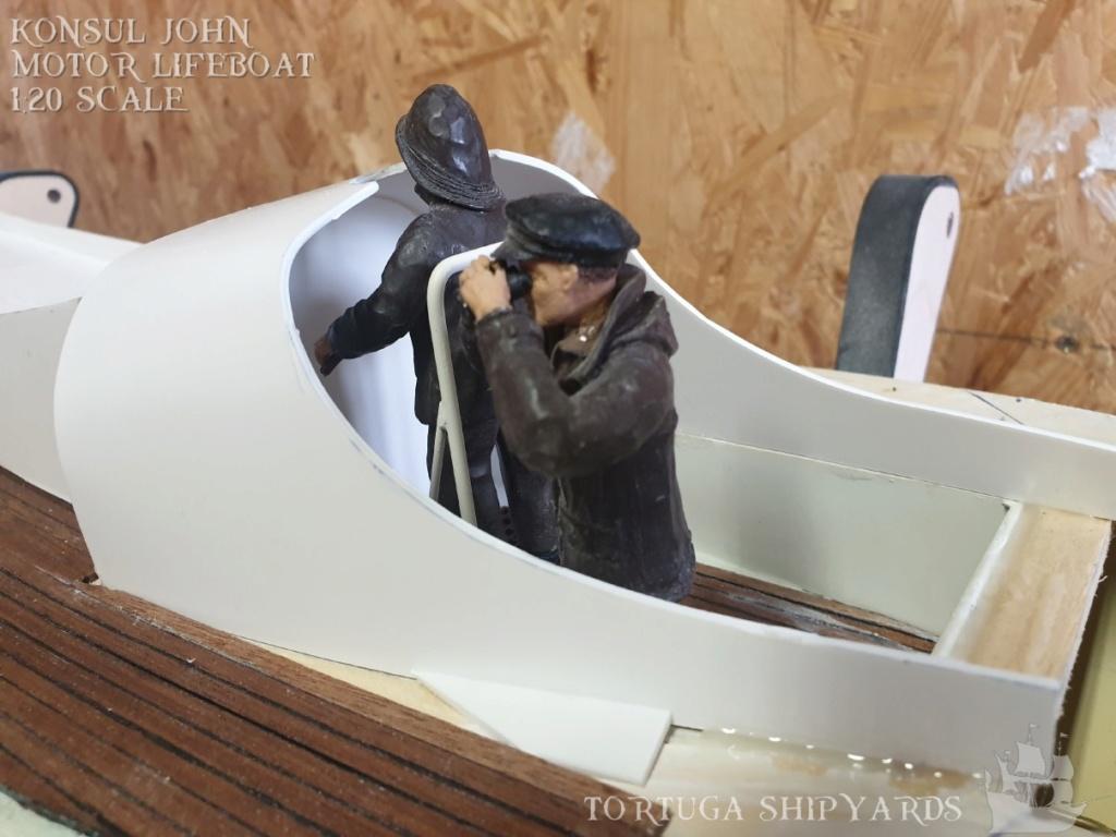 classic german lifeboat - Konsul John Konsul23